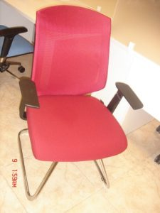 SPLCNL40BA Low back Visitor chair MAROON